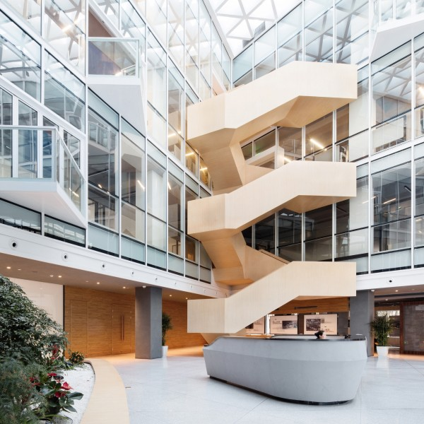 Sustainable office building Design